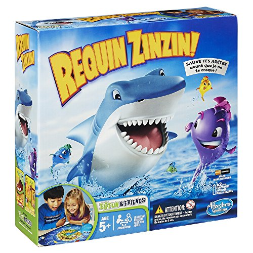 Hasbro - 338934470 - Jeu d'action Et De Réflexe - Requin Zinzin