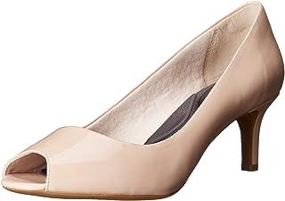 [ロックポート] Womens Finula Peep Leather Peep Toe Classic Pumps [並行輸入品]