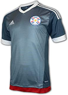 adidas Paraguay Away Shirt 15/16 grau APF Auswärts Trikot Fan Jersey WM Fußball