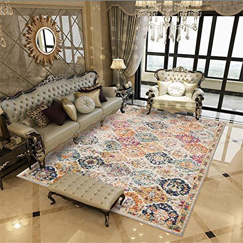 cojin suelo grande bases antideslizantes para alfombras Beige Rectangular Alfombra Decoración de la habitación para niños ANTI-SLIP CAMINAR CONFORT alfombras pasillo modernas 40x60cm 1ft 3.7'X1ft 11.6