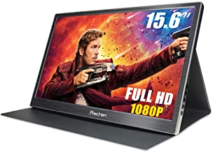 Portable HDMI Monitor,15.6 inch 1920x1080 Resolution with Dual HDMI Interface USB Powered Compatible PS3/PS4 XBOX360 Computer Laptop Raspberry pi 1 2 3,Prechen