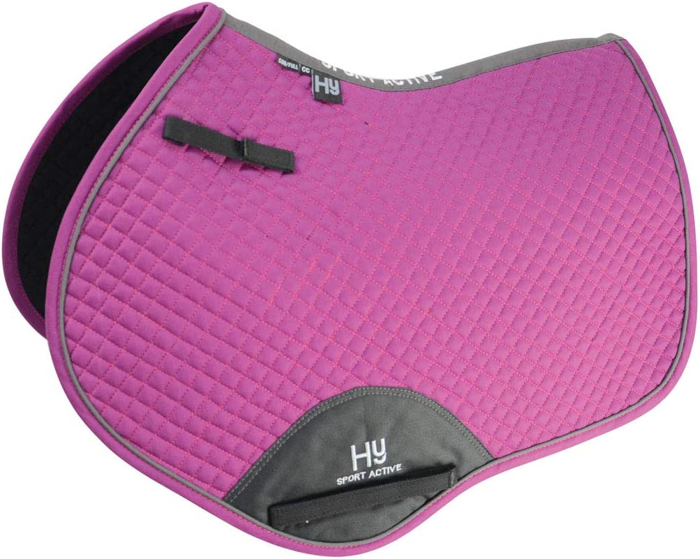 Aegean Green HyWither Sport Active Close Contact Saddle Pad Cob//Full
