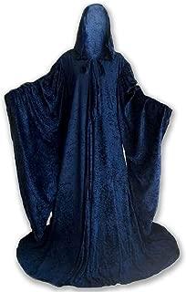 Artemisia Designs Wizard Robe Adult with Hood Sleeves, Men Women Costume Lined Cosplay 64