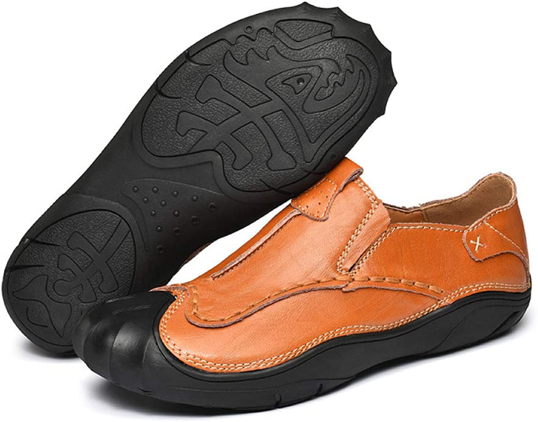 DSFGHE Mans Business Handgjort Handgjort Handgjort skor England Set of Foot Casual skor  bra priser