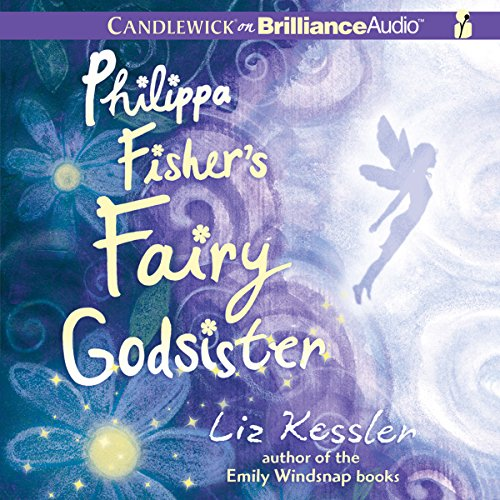 Philippa Fisher's Fairy Godsister audiobook cover art