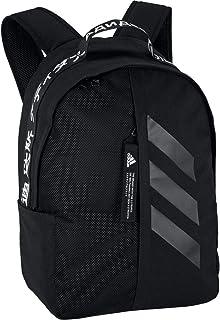 adidas Unisex Classic 3-Stripes At Side Backpack, Black/White