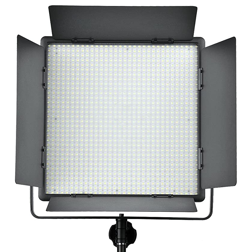 Godox LED1000W 5600K Studio LED Video Light Panel w/Remote For Camera Camcorder