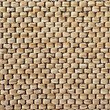 Teppich / Läufer Sabang | Farbe Natur, Sisaloptik | Qualitätsprodukt aus Deutschland | GUT Siegel | kombinierbar mit Stufenmatten | viele Breiten und Längen (66×150 cm) Küchenläufer Flurläufer Teppichläufer - 3