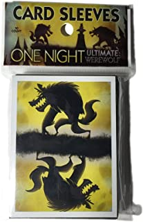 "Bezier Games BEZ00024 ""One Night Card Sleeves"" Board Game"