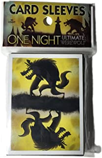 Bezier Games BEZ00024 One Night Card Sleeves Board Game