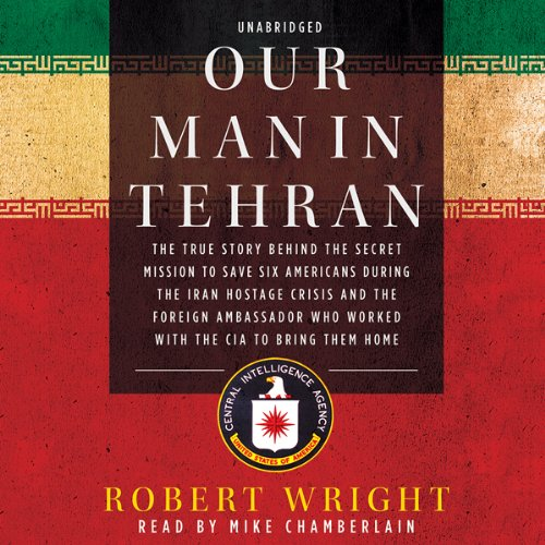 Our Man in Tehran audiobook cover art