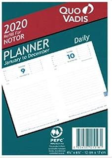 Quo Vadis Notor 2020 Refill Planner