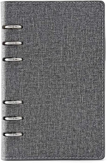 ZHANGCHI Six-Hole Loose-Leaf Notebook Simple Bus Solid and Color Max 79% Baltimore Mall OFF