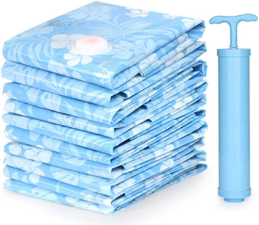 XUM Vacuum Storage Bags 8 Pack Quality inspection for with to Stor Hand-Pump shipfree Travel