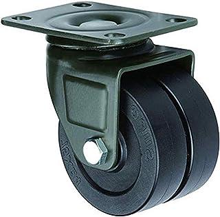 Casters 4 stuks transportwielen industriële zware universele wielen voor transport universeel 50 mm nylon met vaste plaat,...