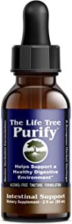Purify - Certified Organic Advanced Intestinal Support and Microbial Cleanse for Humans and Pets - Contains no Wormwood - 2 fl oz Tincture Formulation.