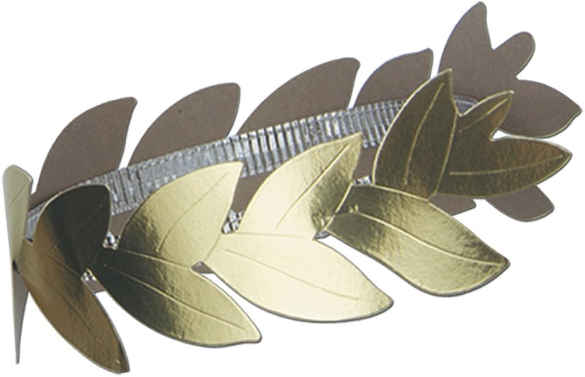 Club Pack of 36 Gold Credence Roman Wreath Laurel Headband Industry No. 1 Ha Adult Women