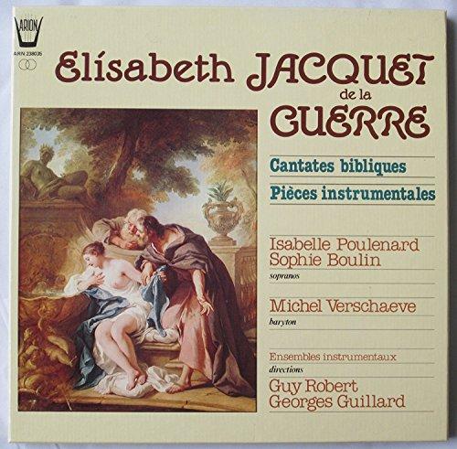 Cantates bibliques & Pieces Instrumentales (Vinyl) Judith (cantata n.6 libro 1) Suzanne (cantata n.5 libro 1) Esther (cantata n.1 libro 1) Jacob et Rachel (cantata n.3 libro 1)