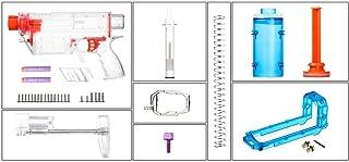 Toy Gun Mod Kits Worker YY-R-W017 Mod Kits Set for Nerf N-Strike Elite Stryfe Blaster Long Bullets A Pump Kit Toy Gun Accessories