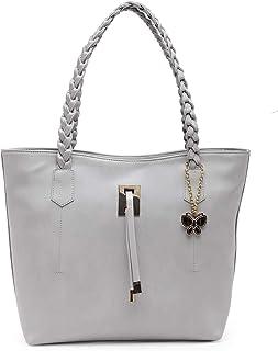 Butterflies Handbag For Women's & Girl's (Grey) (BNS 0772GY)
