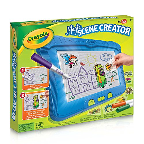 Crayola Magic Scene Creator Drawing Kit For Kids Creative Toys Gift For Boys And Girls Kids Ages 3 4 5 6 7 And Up Holiday Toys Arts And