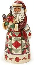 Enesco Jim Shore Heartwood Creek Canadian Santa Figurine, 7.25 Inch, Multicolor