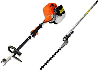 62cc Hedge Trimmer attachment and Petrol Multi Tool combo