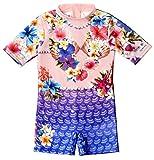 Bluesalt Beachwear Girls' Athletic One-Piece Swimsuits