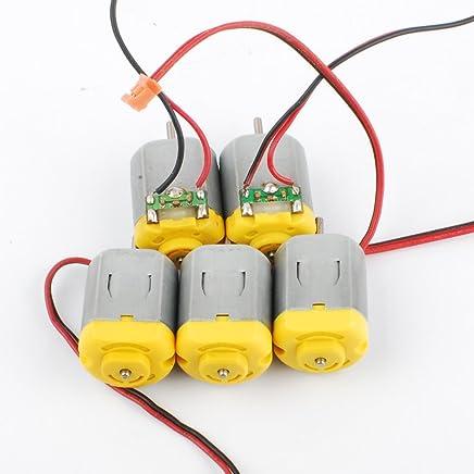 NW 20pcs Mini Coreless Motor 612 6x12.5mm 3V 3700rpm 0.8mm shaft fit for Vibrator Motor