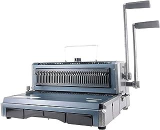 AITAOZI Machine à Reliure, Trous Ronds, pignon de liant 20 Feuilles/Lier 120 Feuilles avec Construction de métaux Robustes