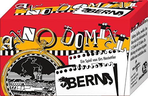ABACUSSPIELE 09142 - Anno Domini - Bern, Quizspiel, Schätzspiel, Kartenspiel