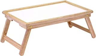 Winsome Wood 98821 Stockton Bed Tray, Natural/wht