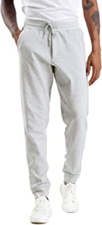 Men's Fleece Joggers Pants with Deep Pockets Athletic Loose-fit Sweatpants for Workout, Running, Training