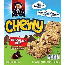 Quaker Chewy Chocolate Chip Granola Bars, 8 ct