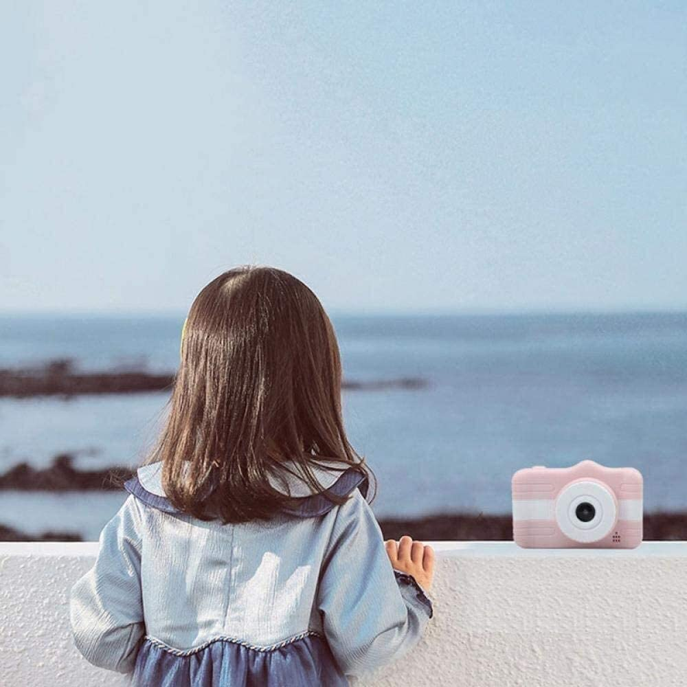 Kid's Camera Children's digitale camera Mini camera kan foto's nemen speelgoed cadeau Blue (Color : Pink) Pink