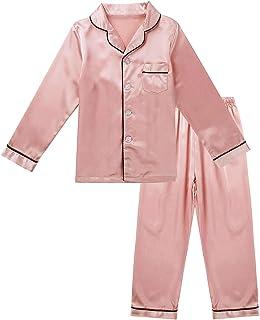 Freebily Pijama Niño con Pantalon y Camiseta de Manga Larga Ropa de Dormir para Niño Adolescentes 3-14 Años