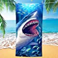 Bonsai Tree Shark Beach Towel