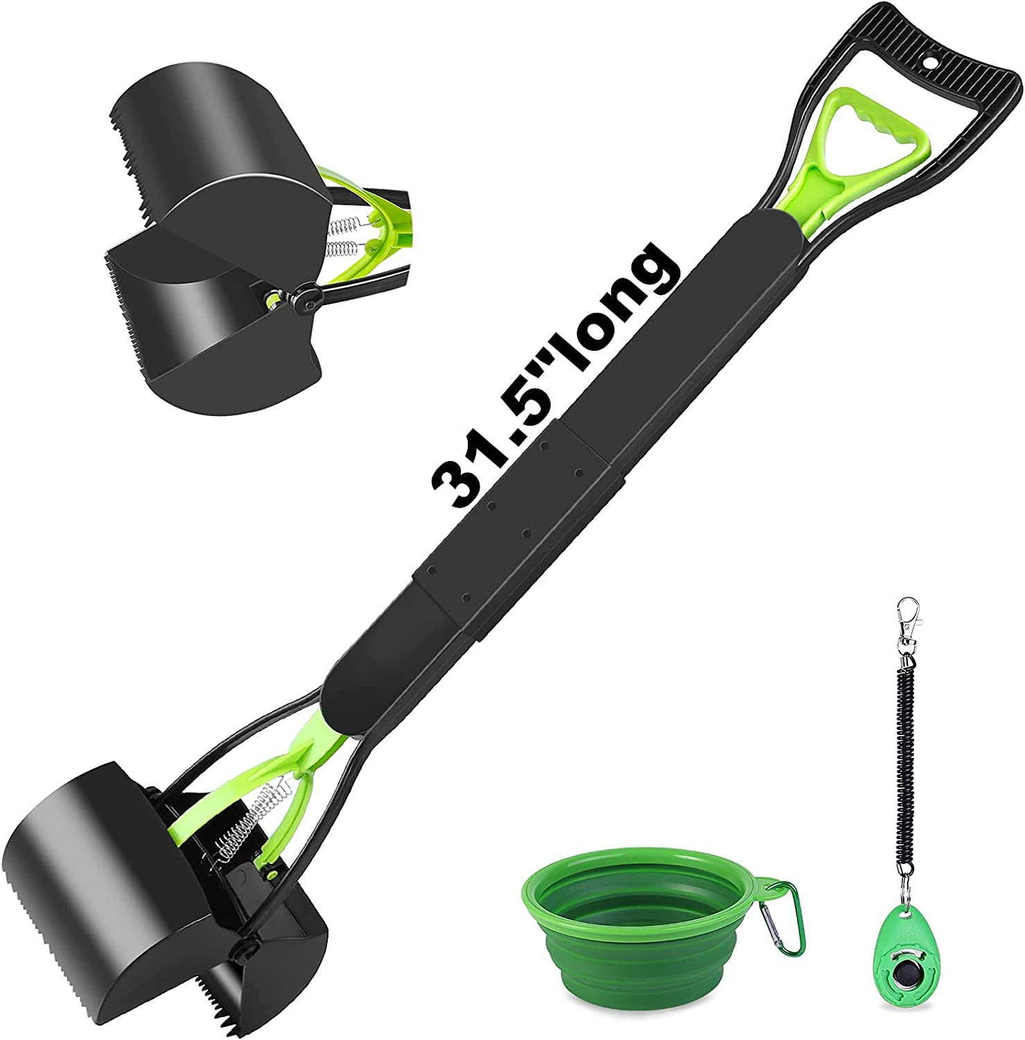 RENJINGG Overseas parallel import regular item Spring new work one after another Heavy-Duty Portable pet Poop Large for Suitable Shovel