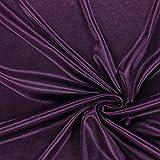 Fabulous Fabrics Futterstoff Charmeuse – aubergine —