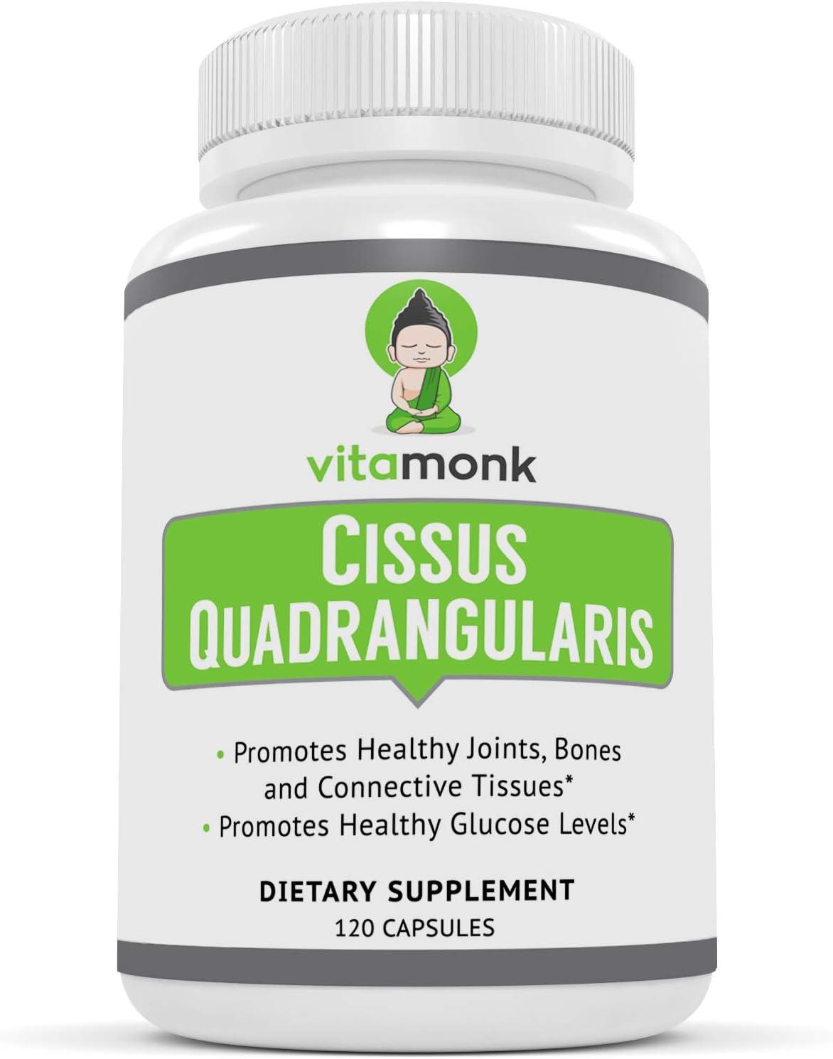 Free shipping / New VitaMonk™ Cissus Quadrangularis 5% Extract 12 - Max 67% OFF Ketosterone