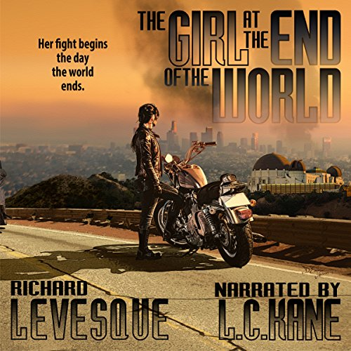 The Girl at the End of the World audiobook cover art