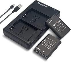 Newmowa EN-EL23 Battery (2 Pack) and Dual USB Charger Kit for Nikon EN-EL23 and Nikon Coolpix B700, P600, P610, P610s, P900, P900s, S810c Digital Cameras