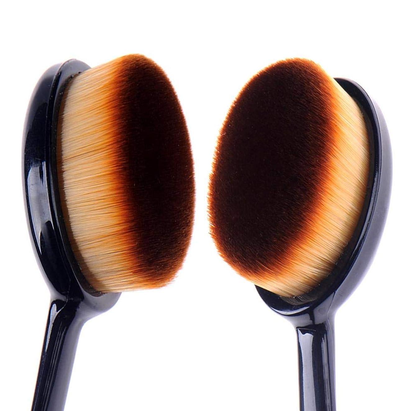 整然とした保証フェデレーションSILUN 歯ブラシ型 ファンデーションブラシ 専用キャップ付き メイクブラシ メイクアップブラシ コスメ 化粧 ファンデーションブラシ