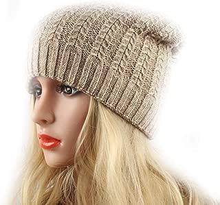 HaHaPo Knitted Hat Women's Winter Wool Cap Female Beanies Skullies