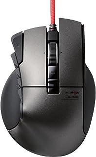 エレコム ゲーミングマウス <DUX> 有線 14ボタン 3500dpi ハードウェアマクロ対応 M-DUX50BK