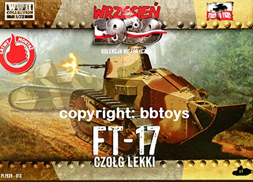 1/72 First to Fight 013 WKII Polen FT-17 Panzer / Frankreich Renault