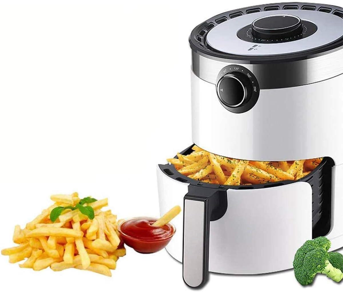 Air Fryer 1400W 3.5L Familie große Low Fat Gesunde Hot Oil Free Friteusen, 30-Minuten-Timer und einstellbare Temperaturregelung,Grün Green