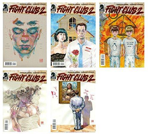 Fight Club 2 Issue 1-5 Set - Bundle of Five (5) Dark Horse Comics!