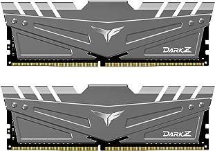 TEAMGROUP T-Force Dark Z 16GB Kit (2x8GB) DDR4 Dram 3200MHz (PC4-25600) CL16 288-Pin Desktop...
