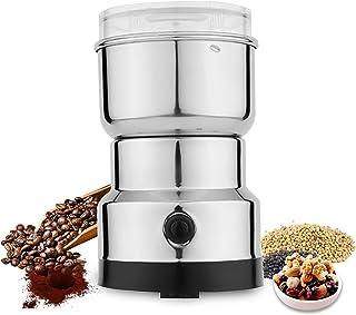 Laiashley Elektrische bonenmolen, draagbare graanmolen, multifunctionele hakmachine, commerciële poedermachine voor kruide...